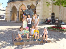 gd) Ausflug zum Franziskaner-Kloster in Villach zum Ausklang unserer Franziskus-Epoche